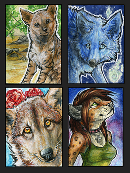 ATC.:Early Spring:. by WhiteSpiritWolf