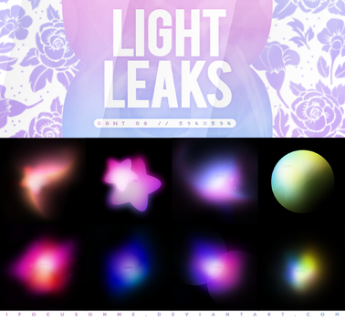 //LIGHT LEAKS TEXTURES // by swxt-moon