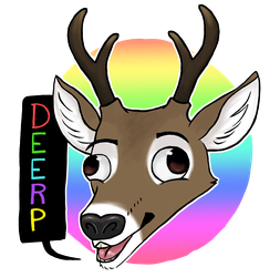 Deerp design (First clip studio paint illustration by DragonologyDragon