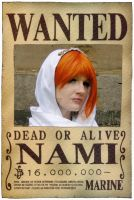 One Piece - Wanted 'Nami' by das-Diddy