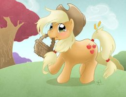 Let's get some apples by Caravaggia