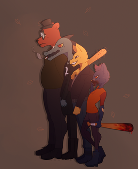 NIGHT IN THE WOODS by Boo-Tay