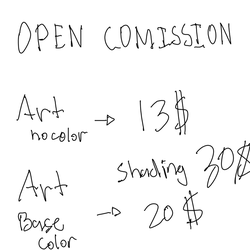 Commision is open guys! by Ehven