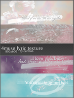 4 muse lyric large texture 1 by Carllton