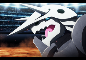 Aggron In Battle Stadium