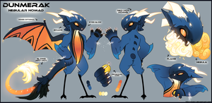 Dunmerak Ref Sheet [Trade] by VexVyrus