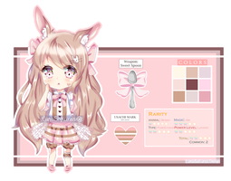 [CLOSED] Adoptable Raffle ~ Sweet Bunny by Hinamico