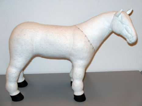 WIP - Horse plush by demiveemon