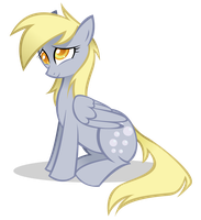 Happy Birthday Derpy by sunflic