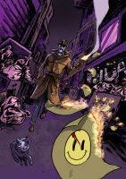 My latest work Watchmen Rorschach poster by laourde