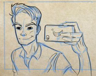 Traditional Selfie #2 by NunoWho