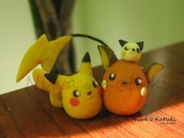 Pika Set by Niwa-Katuki