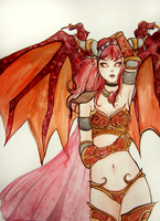 Queen of the Dragons by michA-sAmA