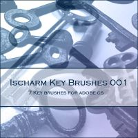 Ischarm Key Brushes 001 by ischarm-stock