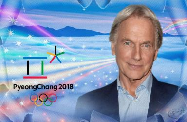 Mark Harmon - Winter Olympics 2018 by silverfox2159