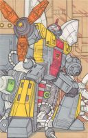 Omega Supreme - Guardian of Cybertron by SB-Artworks