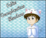 Shadow Shota xD digo Feliz cumple Shadow :D by kuki4982