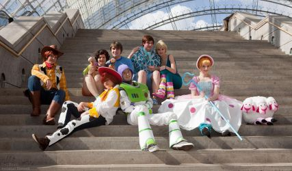 Toy Story Group by Rayi-kun
