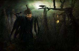 Halloween Scarecrow by Madink2000