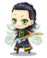Chibi Loki Again by Iksia