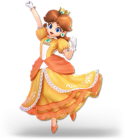 Super Smash Bros. Ultimate - Daisy - Render by CynicSonic