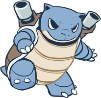 009. Blastoise by HappyCrumble