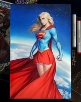 Classic Supergirl by WarrenLouw