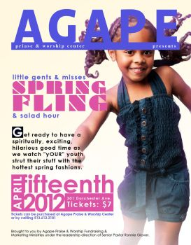 Spring Fling Flyer Magazine Cover by Nuncio78