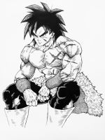 Broly - New Dragon Ball Super Movie by Darko-simple-ART