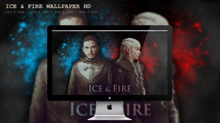 Ice and Fire Wallpaper HD by BeAware8