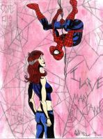 Spider-Man loves Mary Jane by Hyperkid37