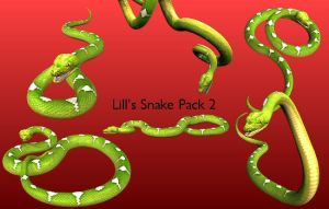 Snake Pack 2 by Lill-stock