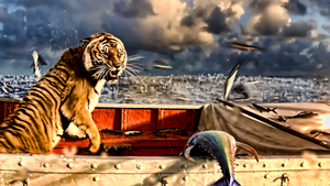 Arthur Parker from life of Pi by kingwicked