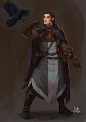 Concept: Human Rogue / Spymaster by asphillipsart