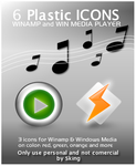 6 Plastic Icons of Music by skingcito