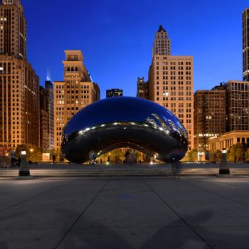 Postcard from Chicago 02 by JACAC