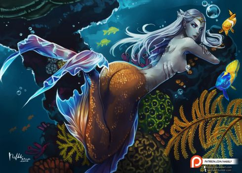 Mermaid by Hassly