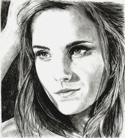 Emma Watson by TheSketchist53
