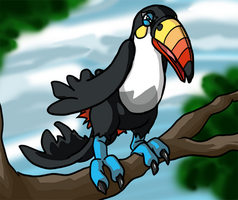 Toucannon! by faeore