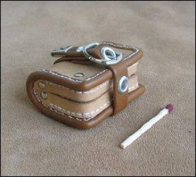 Small Thing by farmer by LeatherArtisans