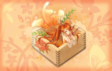 Mermaid Box Background by Xpertfall