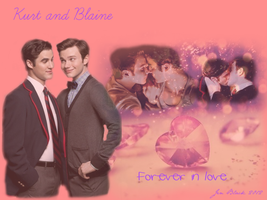Kurt and Blaine by orhssinger11