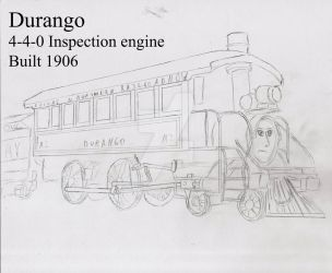 Durango Concept Art (Uncolored) by KeeperofToast
