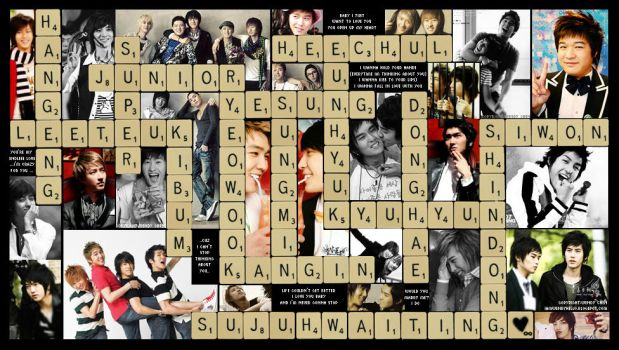 Scrabble: Super Junior-ized by iamwendyhello