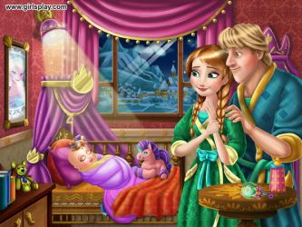 Anna and kristoff's baby by unicornsmile