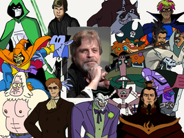 Character Compilation: Mark Hamill by Melodiousnocturne24