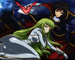 Lelouch and C.C. by Lord-Rimus