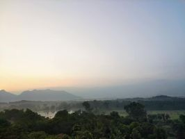 Dambulla sunrise by bironicheroine