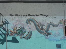 The Dragon With Beautiful Things by discoinferno84