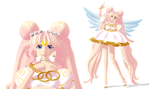 [MMD] Princess Serenity (Alt.design) by Gummi-Candy